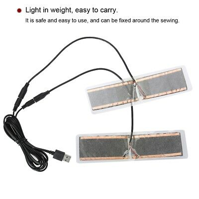 5V USB Electric Cloth Heater Heating Element Film Pad Warmer for Warm Belts Feet