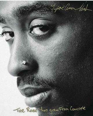 Rose That Grew from Concrete by Tupac Shakur Paperback Book Free Shipping!