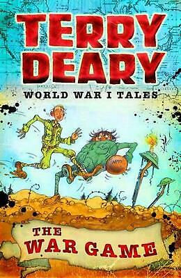 World War I Tales: The War Game by Terry Deary Paperback Book Free Shipping!