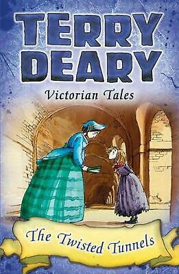 Victorian Tales: the Twisted Tunnels by Terry Deary Paperback Book Free Shipping