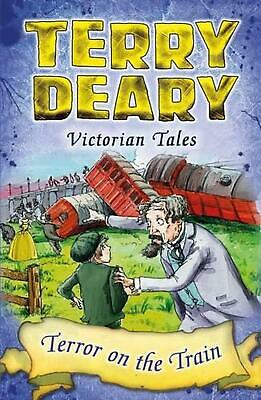 Victorian Tales: Terror on the Train by Terry Deary Paperback Book Free Shipping