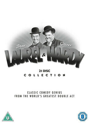 Laurel and Hardy: The Collection DVD (2018) Stan Laurel ***NEW***