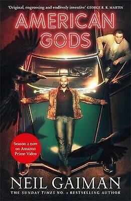 American Gods: TV Tie-In by Neil Gaiman Paperback Book Free Shipping!