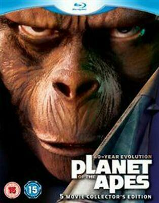 Planet of the Apes Collection - Blu-ray Region B Free Shipping!