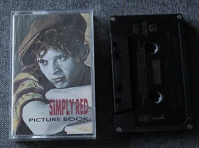Simply Red, picture book, K7 audio / Audio tape
