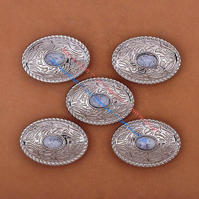 10 Piece Etched Engraved Silver Saddle Set Horn Cantle Thick Corners Conchos