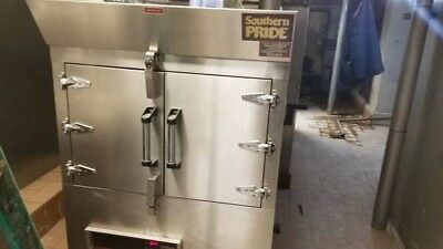 Southern Pride SPX-300 Stainless Steel Rotisserie Smoker