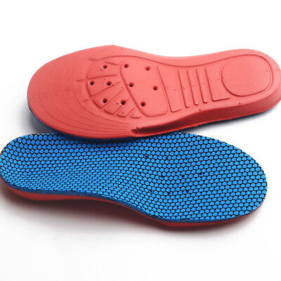 2 X Orthopedic Orthotics Arch Support Shoe Insoles Inserts Pad For Children Kids