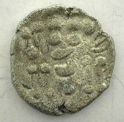Durotriges 58B.c.-43A.d. Silver 1/4 Stater Celtic Coinage  Very Fine