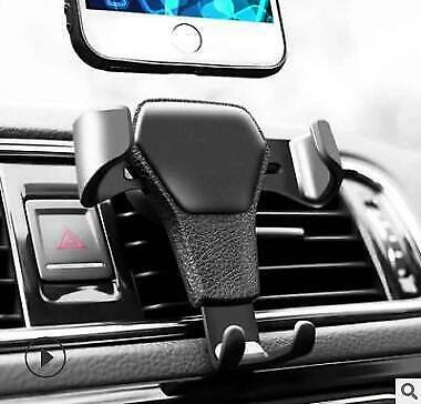 Universal Adjustable Phone Holder Car Air Vent Gravity Design Mount Cradle Stand