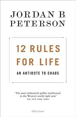 12 Rules for Life: An Antidote to Chaos by Jordan B. Peterson Hardcover Book Fre