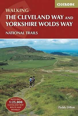 Cleveland Way and the Yorkshire Wolds Way by Paddy Dillon Paperback Book Free Sh