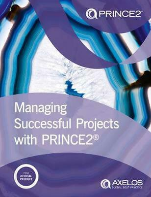 Managing Successful Projects With Prince2 by Axelos Paperback Book Free Shipping