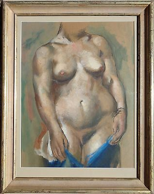 NUDE painting 1937 JON CORBINO female TORSO nude MACBETH gallery ROCKPORT oil