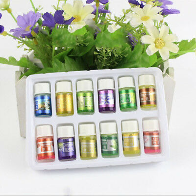 Essential Oil Kit Create A 12 x 3ml 100% Pure Aromatherapy Air Diffuser Oil Set