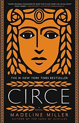 Circe by Madeline Miller (2018, Hardcover) #1 New York Times bestseller