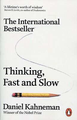 Thinking, Fast and Slow - by Daniel Kahneman NEW Paperback Book Free Shipping