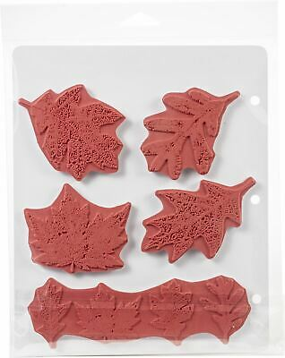 Cling Stamps 7 inch x 8.5 inch - Falling Leaves - Tim Holtz - Stampers Annon
