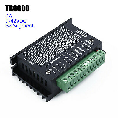 Universal TB6600 Stepper Driver Motor Controller 9~42VDC 0.5A-4.0A Accessory