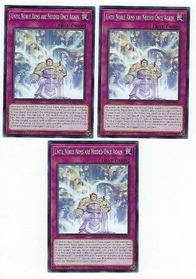 X3 Yugioh Until Noble Arms Are Needed Once Again Sofu-En091 Common 1St In Hand