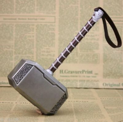 New Avengers Thor The Dark World Hammer Mjolnir Hot Prop Replica Costume 8""
