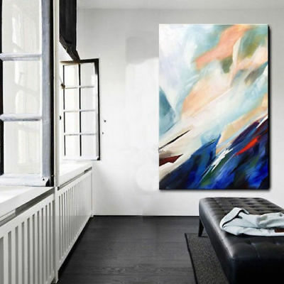 Modern Living Room Home Decor Hand-painted Abstract Art Oil Painting Gifts