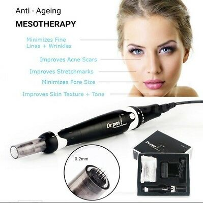 Dr.pen A7 Electric Derma Pen Anti Aging Stamp Infinitely Speed with Needle UK