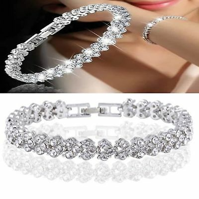Solid Gift Womens 925 Jewellery Sterling Bangle Silver Ladies Bracelet Classic