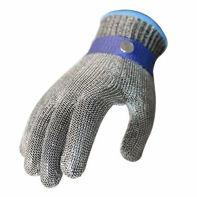Stainless Steel Metal Gloves Protective Stab Glove Butcher Cut Mesh Safety Proof