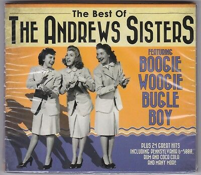The Andrews Sisters - Best of - CD - New + Sealed