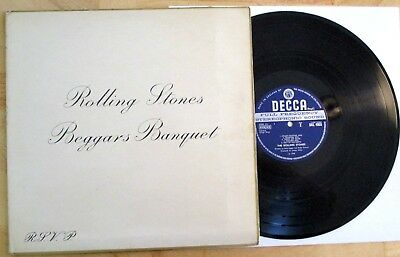 The Rolling Stones Original Decca Unboxed Uk Stereo Vg 1K/2K Beggars Banquet