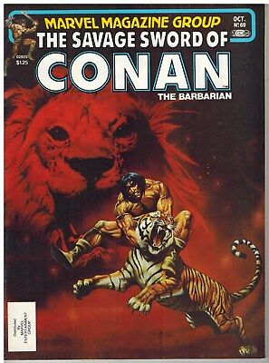 Savage Sword Of Conan #69 1981 Marvel Bronze Age Nice!