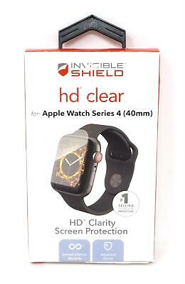 ZAGG InvisibleShield HD Screen Protection For Apple Watch Series 4 200202467 New