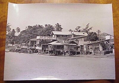 "1960's Lahaina Shoreline Shanties Mala Side Maui Hawaii 5"" x 7"""