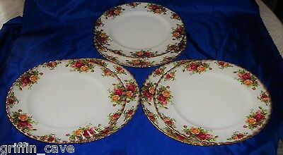 Royal Albert Old Country Roses Dinner Plates Individually Sold  Size 26.5 cm
