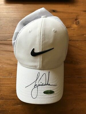Tiger Woods Autographed Nike 2012 Victory Hat LE with Authenticity  Certficate 4457845ff29a
