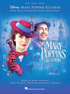 Mary Poppins Returns - Piano/Vocal/Guitar Songbook 285401
