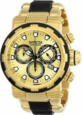 Invicta Specialty Chronograph Gold Dial Men's Watch 23978