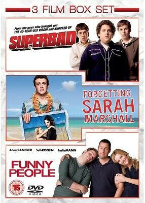 [DVD] Superbad / Forgetting Sarah Marshall / Funny People
