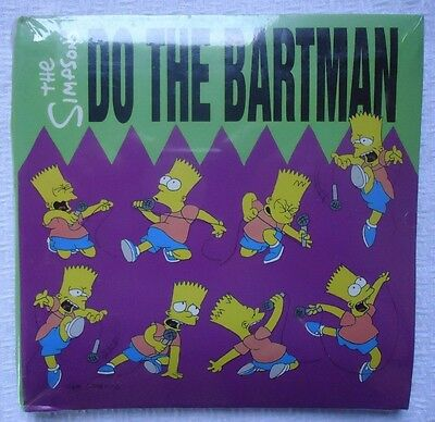 Do The Bartman The Simpsons Sings The Blues Promotional Cd Factory Sealed New