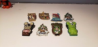disney trading pins lot - 15 trading pins and a stitch lanyard