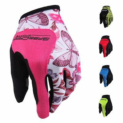 1X(Basecamp Nylon breathable Full Finger Cycling Gloves for Bike(Wandering W7Y2)