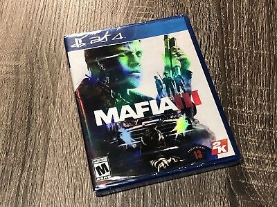Mafia III 3 (PlayStation 4, PS4) BRAND NEW- SEALED - FREE SHIPPING