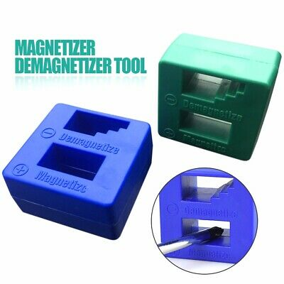 Magnetizer Demagnetizer Screwdriver Tips Screw Bits Magnetic Block Pick Up Tool