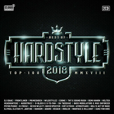 Various Artists - Hardstyle Top 100: Best Of 2018 / Various [New CD] Holland - I