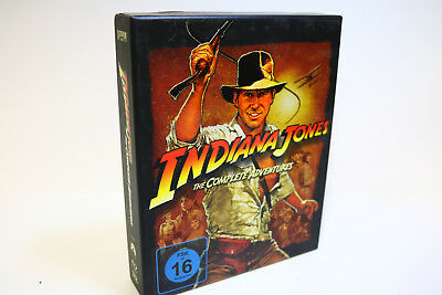 Indiana Jones The Complete Adventures Box Set- Limited Edition [Blu-ray]