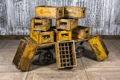 Vintage Bottle Storage Crate Storage Decor