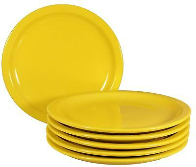 Ceramic Plate Tableware Round Dinner Food Container 6 Pack Plates