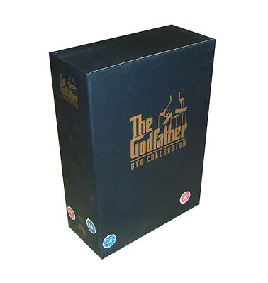 The Godfather Trilogy (DVD, 2008, 5-Disc Set, Box-Set)