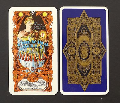 Vintage The Oracle of Sibyl Fortune Telling Cards Deck Tavaglione 1980